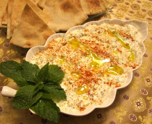 Egyptian food yogurt cucumber dip or salad forumfinder Images